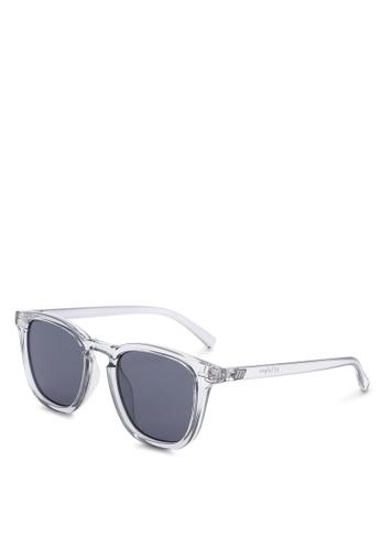 Le Specs black No Biggie Sunglasses 8B854GL40EE076GS_1