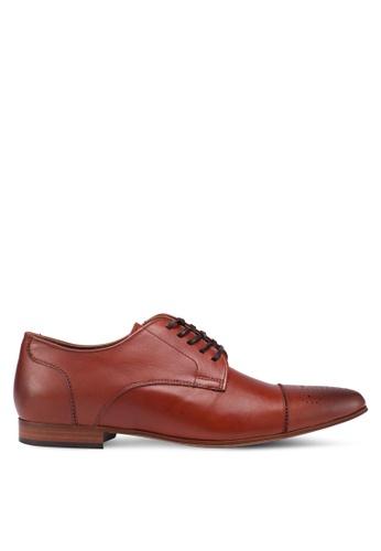ALDO brown Reciso Dress Shoes 03A8FSH8EECF84GS_1