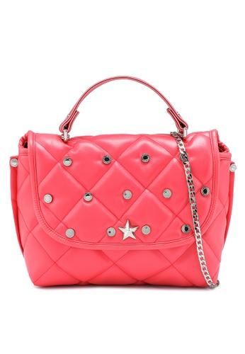 La Fille Des Fleurs red and pink Princess Crossbody Bag 6AB55AC4B119DFGS_1