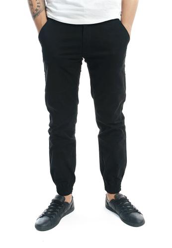 Praise black Jogger Pants PR067AA84KJNSG_1