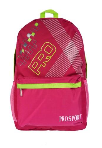 PROSPORT pink Prosport Backpack 616-34 - Pink 29AEDAC107013EGS_1