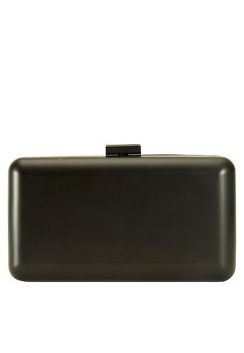 My Flash Trash black Matt black Box Clutch Bag 4ADC5AC0BB190EGS_1