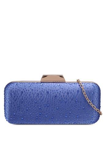 Papillon Clutch blue Long Diamonte Clutch A0779AC02480C8GS_1