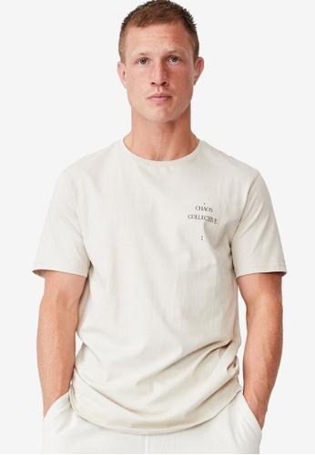 Cotton On grey Longline Scoop T-Shirt CCCDEAA9E977F9GS_1
