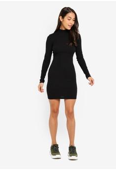 644ffc2b1a2d 5% OFF Factorie Rib Roll Neck Long Sleeve Dress S$ 29.95 NOW S$ 28.50 Sizes  XS S M L XL