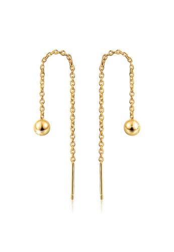Obsession silver OBSESSION Batrishia Threader Earrings 98A02ACDEC1614GS_1