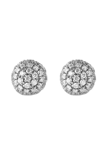 TOMEI white TOMEI Earrings, Diamond White Gold 375 (E1179) 7340FACF61DCC6GS_1