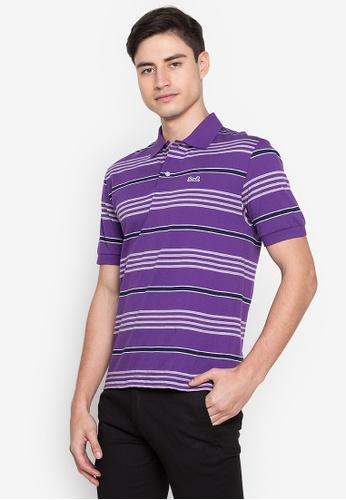 Le Tigre purple Men's Classic Polo Shirt 94B42AA7BF1BE1GS_1