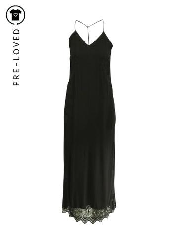 Iro black Pre-Loved iro Strapless Maxi Dress 7F26CAA1A33B97GS_1