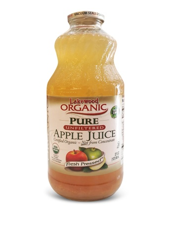 Andes Haven 【Lakewood Organic】Pure Unfiltered Apple Juice - 946ml 7A609ESBB4DF26GS_1