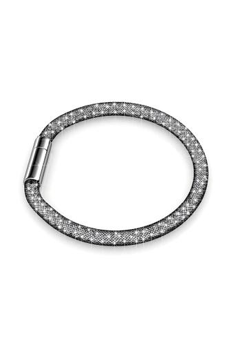 Her Jewellery black Her Jewellery Meshy Bracelet (Black) B23ABACA006456GS_1