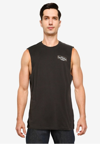 Cotton On black Tbar Muscle Tank 303F0AA65597A5GS_1
