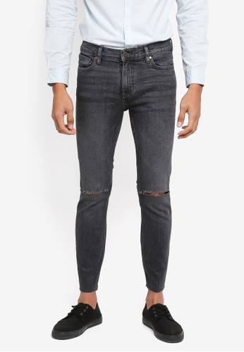 MANGO Man grey Ripped Details Dylan Jeans 7D0E7AAD73FDB0GS_1