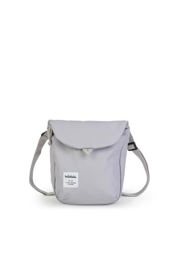Hellolulu grey Desi - All Day Sling Bag 0EE07AC29624AFGS_1