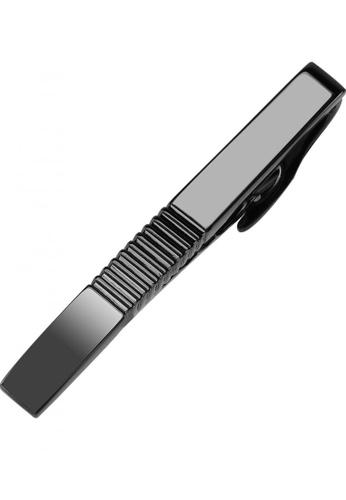 CUFF IT black 51mm Ribbed Gunmetal Mens Tie Clips CU047AC69CRYHK_1