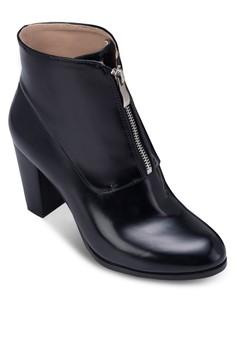 Zipper Boots Heels