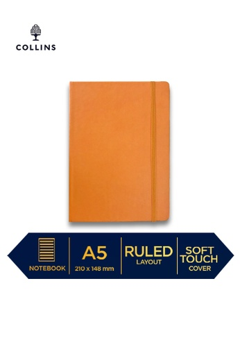 Collins orange Collins Legacy  ─  NotebookA5 Ruled Bright Orange 6D3C0HLEFB08E4GS_1
