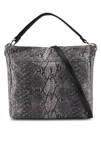 Perllini&Mel black Faux Leather Single Handle 6AA33ACDFB8933GS_1