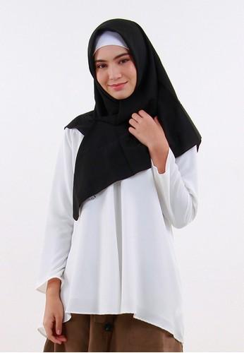 QUEENSLAND white Blouse Kemeja Putih Lengan Panjang B10107Q 210EFAA7A6E688GS_1