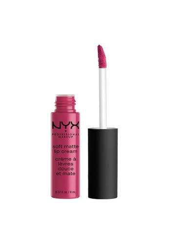 NYX Professional Makeup purple NYX Professional Makeup Soft Matte Lip Cream - PRAGUE E4B3DBE04A889EGS_1