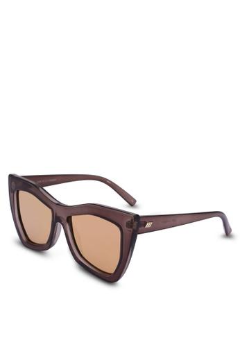 Le Specs brown Kick It 1702037 Sunglasses 7728BGL5858E0CGS_1