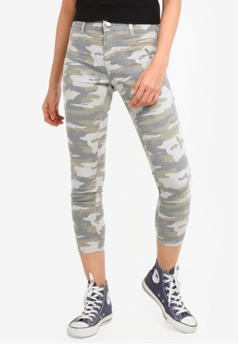 Cotton On green Mid Rise Capri Jeggings 524A5AA858021AGS_1
