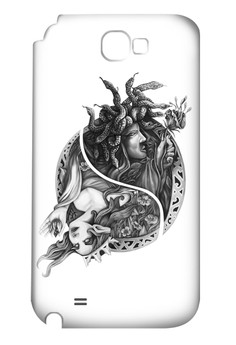 Engkanto Glossy Hard Case for Samsung Galaxy Note 2