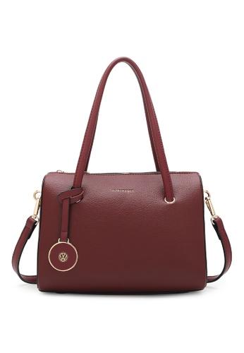 Volkswagen red Women's Hand Bag / Top Handle Bag / Shoulder Bag 23482AC5D6190DGS_1