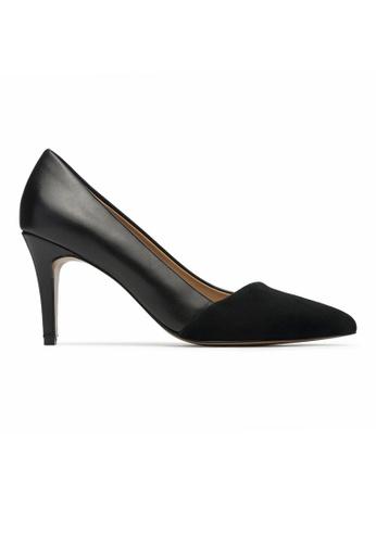 Byford black Berkley Suede Pointed Toe Heels E06B3SHEAC77CCGS_1