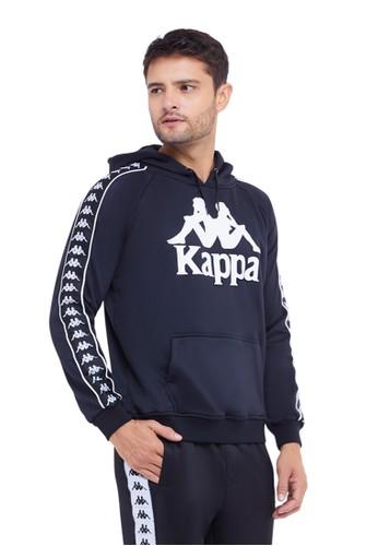 Kappa black Kappa Hoodie LS KJ4LS033 - Black 4808AAAA57D13AGS_1