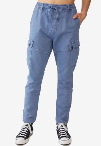 Cotton On blue Military Cargo Pants 5C137AA92171E5GS_1