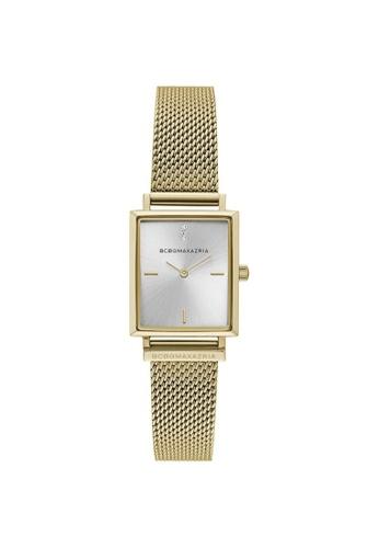 BCBG gold BCBGMAXAZRIA BG50907001 Gold Tone Stainless Steel Milanese Watch 64CEFACB9B8C55GS_1
