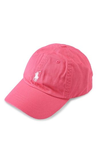 Polo Ralph Lauren pink Classic Cap 99CB9AC721B9B5GS_1