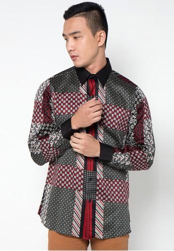 Bateeq Long Sleeve Patchwork Shirt