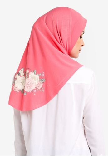 Cloverush pink Vera Instant Scarf CL245AA0RNSAMY_1