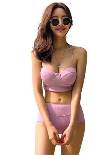 Halo pink Sexy Swimsuit Bikini 5E86DUS49A694CGS_1