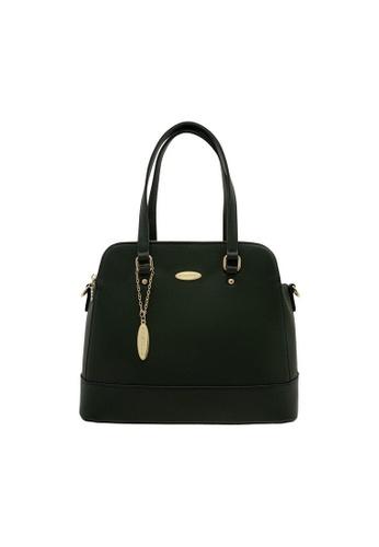 British Polo green British Polo Glenice Handbag 67DB3AC7700F3AGS_1