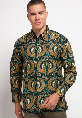 ARJUNA WEDA green Kemeja Batik Sayap CE6C5AA45322DCGS_1
