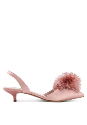 VINCCI pink Sling Back Heels BF0ECSH139BEAFGS_1