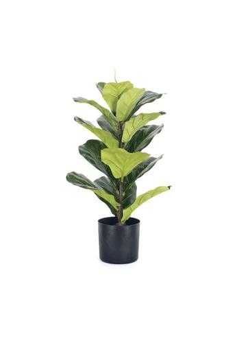 DILAS HOME Artificial Fiddle Leaf Potted Plant E524FHL73700ACGS_1