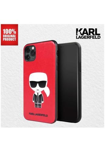 "KARL LAGERFELD red Karl Lagerfeld - Iphone 11 Pro Max 6.5"" Karl Ikonik Full Body TPU Red 4724DESF37A33DGS_1"