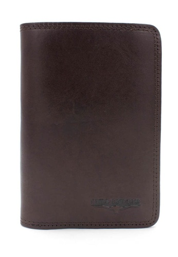 midzone brown BULL RYDERS Premium Genuine Leather Long Wallet FCAE2AC618DD30GS_1
