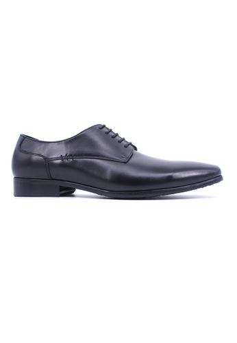 Hanson Bootmaker 黑色 Hanson Bootmaker Lace-up Derby - Black EBAB1SH96D2177GS_1