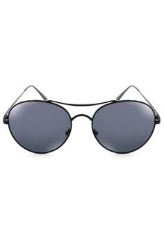 Philip Metal Round Classic Aviator Sunglasses 8005-Y
