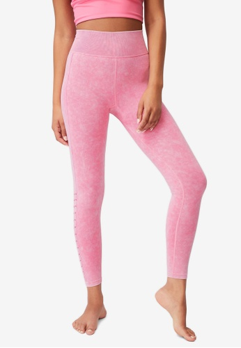 Cotton On Body pink Lifestyle Seamless 7/8 Yoga Tights E386CAA4908DC3GS_1