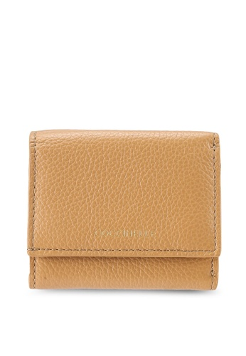 Coccinelle 米褐色 Easy 口袋皮包 0EF68AC9C1631CGS_1