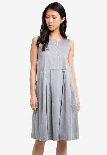 WEEKEND SUNDRIES grey Brunchtime Dress WE453AA0FXUBSG_1