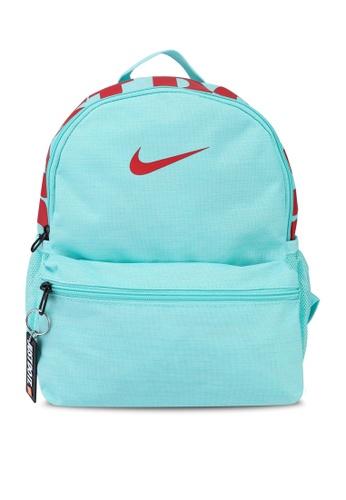 Nike blue Brasilia JDI Mini Backpack 4264EKC176B3D4GS_1