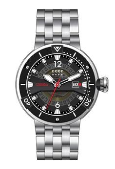 5d8465fb7 CCCP silver CCCP Men s Stainless Steel Watch - CP-7039-11 D1F29ACCBD45B0GS 1