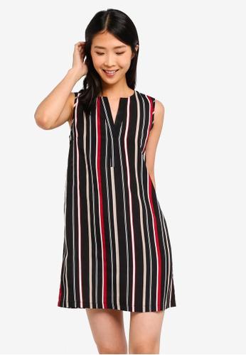 ZALORA BASICS multi Basic A-Line Dress 2EBA7AA5C85B3EGS_1